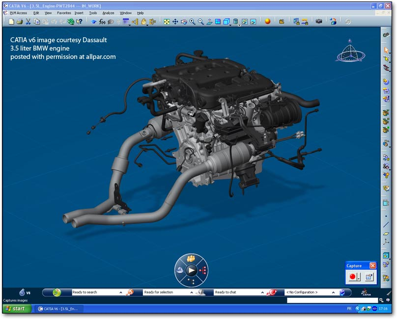 CATIA high capability of parts assembly for motor engine and modifications on assembly and design for parts of automotive engine