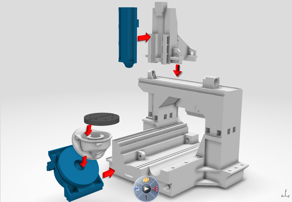 DELMIA simulation for cnc machines