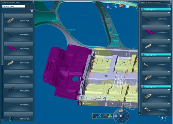 CATIA can provide high capability of manufacturing process