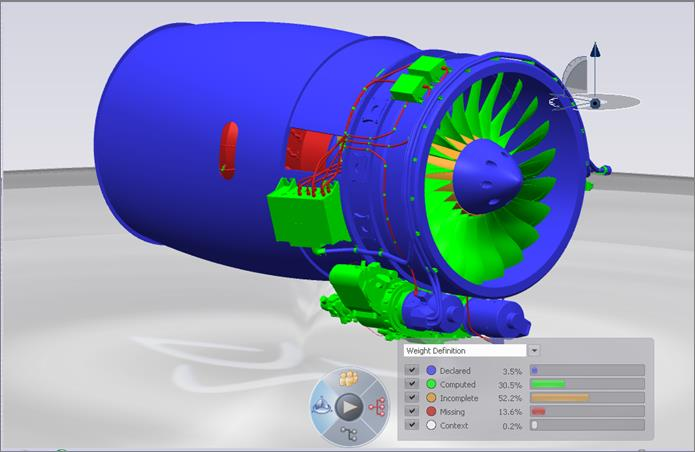 CATIA high capability of assembly to huge and complex parts