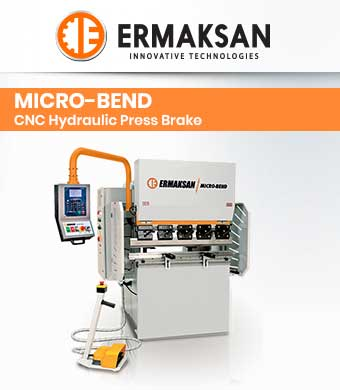 Micro-Bend CNC Hydraulic Press Brake image