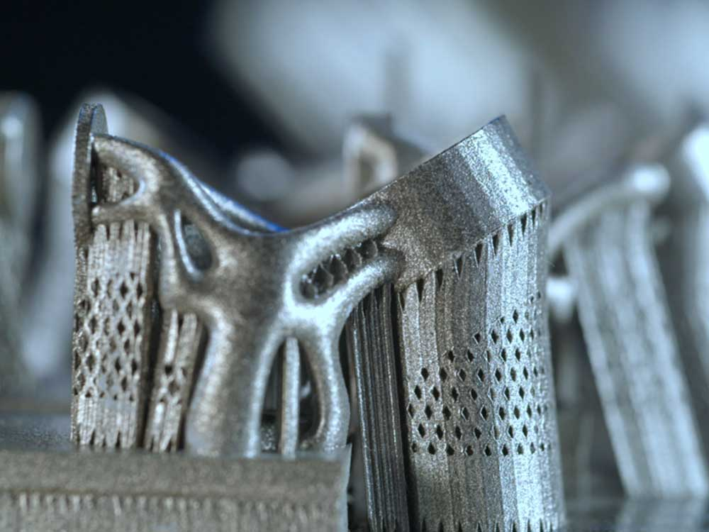 complex Metal 3D Printing spare parts