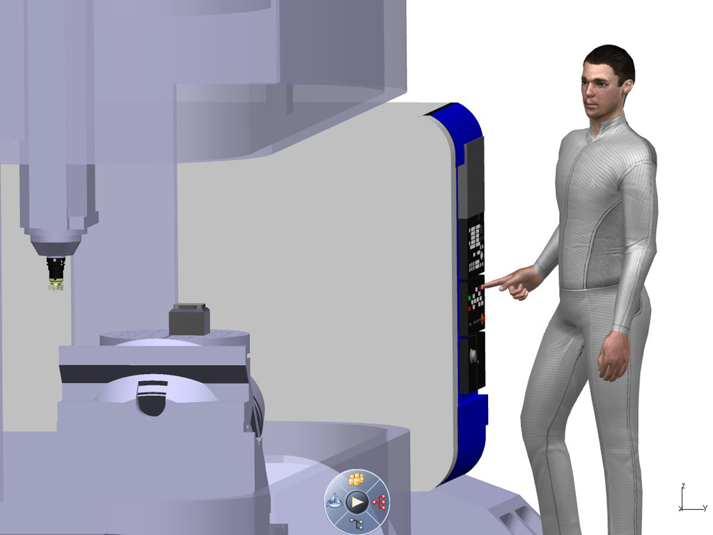 DELMIA high capability of full production simulation to optimize manufacturing process