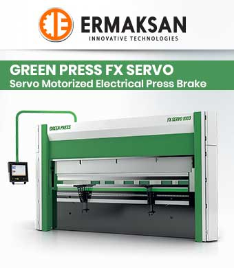 Servo Motorized Electrical Press Brake image